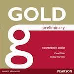 Gold Preliminary Class Audio CDs (Gold)