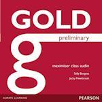 Gold Preliminary Maximiser Class Audio CDs (Gold)