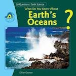 What Do You Know about Earth's Oceans? af Gillian Gosman, Jillian Gosman