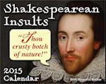 Shakespearean Insults 2015 Calendar