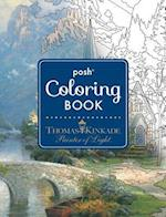 Posh Adult Coloring Book: Thomas Kinkade Painter of Light (Posh Coloring Books, nr. 14)