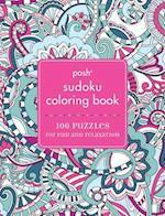 Posh Sudoku Adult Coloring Book af Andrews McMeel Publishing