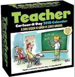 Teacher Cartoon-a-day 2018 Calendar