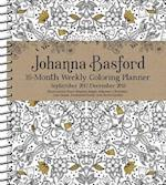 Johanna Basford 2017-2018 Weekly Coloring Planner Calendar