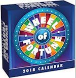 Wheel of Fortune 2018 Calendar