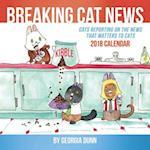 Breaking Cat News 2018 Calendar