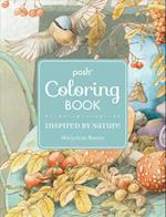 Inspired by Nature Posh Coloring Book (Posh Coloring Books)