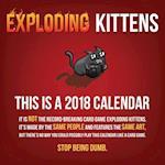 Exploding Kittens 2018 Calendar