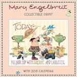 Mary Engelbreit 35 Years of Ann Estelle Collectible Print With 2018 Calendar