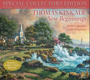 Thomas Kinkade Special Collector's Edition with Scripture 2020 Deluxe Wall Calen