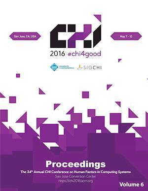 Bog, hæftet CHI 16 Vol 6 af Chi Conference Committee