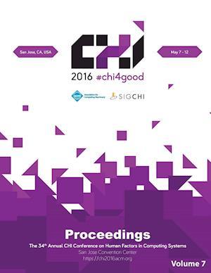 Bog, hæftet CHI 16 Vol 7 af Chi Conference Committee
