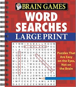 Brain Games Word Searches Large Print
