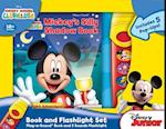 Mickey's Silly Shadow Book Pop-Up Book and Flashlight Set af Publications International