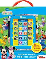 Mickey Mouse Clubhouse Me Reader Electronic Reader and 8-Book Library 4 Inch af Publications International