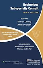The Washington Manual of Nephrology Subspecialty Consult