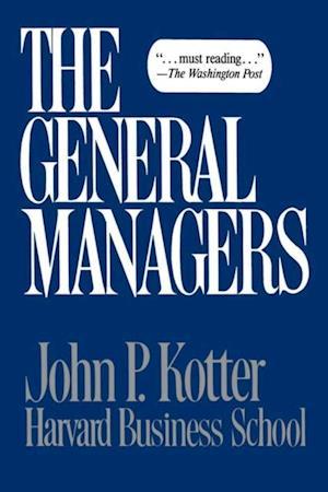 General Managers af John P Kotter