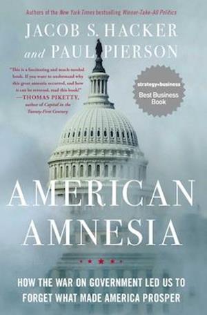 Bog, paperback American Amnesia af Paul Pierson, Jacob S. Hacker