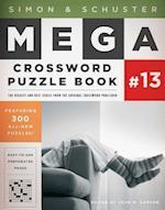 Simon and Schuster Mega Crossword Puzzle Book (The Mega)