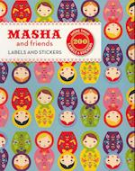 Masha and Friends Labels & Stickers af Suzy Ultman