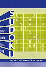 Sudoku Puzzle Pad: Hard to Extreme