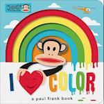 Julius  I Love Color! af Paul Frank