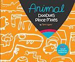 Animal Party Doodles Place Mats af Taro Gomi