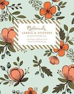 Botanicals Labels & Stickers