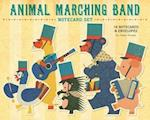 Animal Marching Band Notecard Set af Junzo Terada