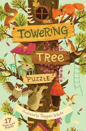 Bog, hardback The Towering Tree Puzzle af Teagan White