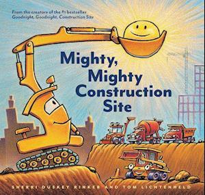Bog, hardback Mighty, Mighty Construction Site af Sherri Duskey Rinker