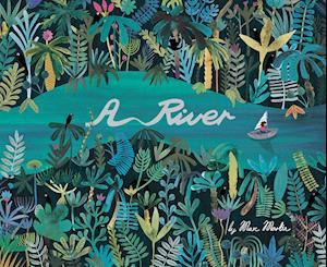 Bog, hardback A River af Marc Martin