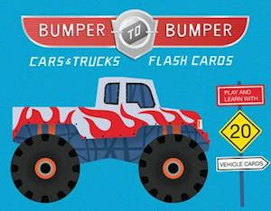 Bog, hardback Bumper-To-Bumper Cars & Trucks Flash Cards af Nick Lu