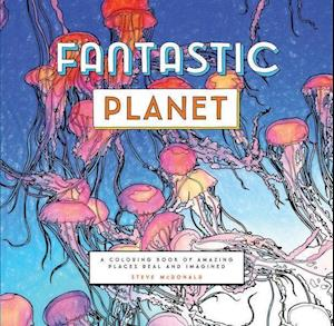 Bog, paperback Fantastic Planet af Steve McDonald
