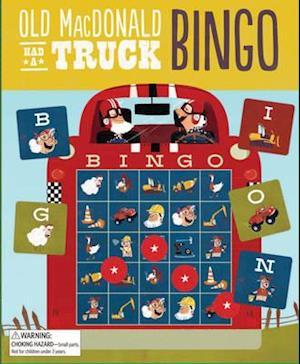 Bog, hardback Old Macdonald Had a Truck Bingo af Steve Goetz