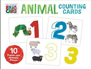 Bog, paperback The World of Eric Carle - Animals Counting Cards af Eric Carle