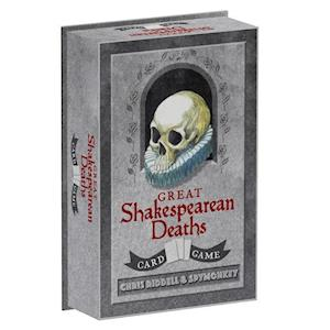 Bog ukendt format Great Shakespearean Deaths Card Game af Chris Riddell
