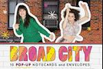 Broad City Pop-up Notecards
