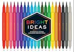 Bright Ideas Double-Ended Colored Brush Pens (Bright Ideas)