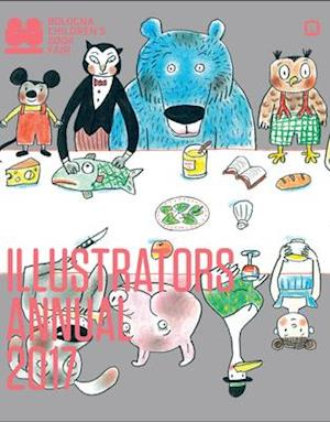 Bog, paperback Illustrators Annual 2017 af The Bologna Children's Book Fair
