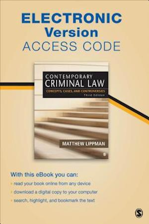 Contemporary Criminal Law Electronic Version