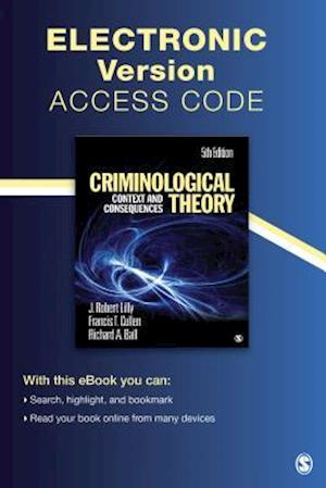 Criminological Theory Electronic Version