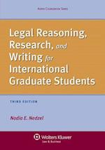 Legal Reasoning, Research, and Writing for International Graduate Students af Nadia E. Nedzel