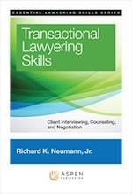 Transactional Lawyering Skills (Essential Lawyering Skills)