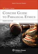 Concise Guide to Paralegal Ethics (Aspen College)