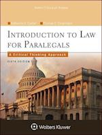 Introduction to Law for Paralegals (Aspen College)
