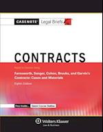 Casenote Legal Briefs for Contracts, Keyed to Farnsworth, Sanger, Cohen, Brooks, and Garvin (Casenote Legal Briefs)