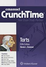 Emanuel Crunchtime for Torts (Crunchtime)
