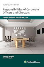 Responsibilities of Corporate Officers & Directors 2016-2017