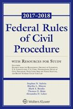 Federal Rules of Civil Procedure with Resources for Study (Supplements)